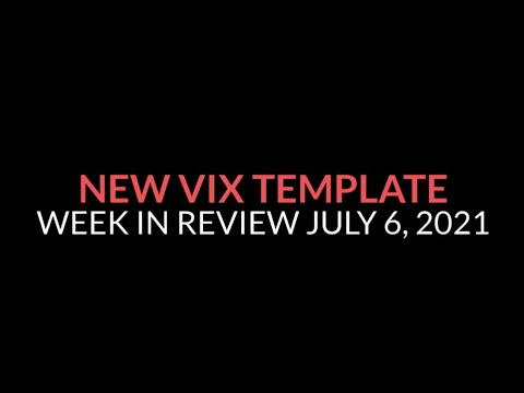 New VIX Template - Week in Review Trading 7-06/21