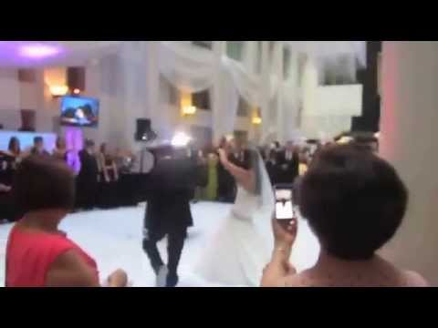 T.I. Bring em out wedding entrance