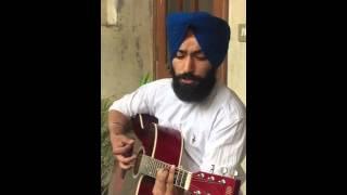 Pyar Tere da Asar    Prabh Gill    Guitar Cover    Sunpreet Matharoo