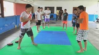 Muay Thai - Super man punch variante -  como golpear