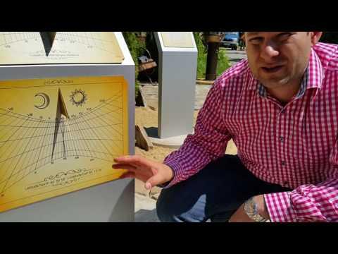Парковые солнечные часы. Как они работают.The Park sundial. As they are working.