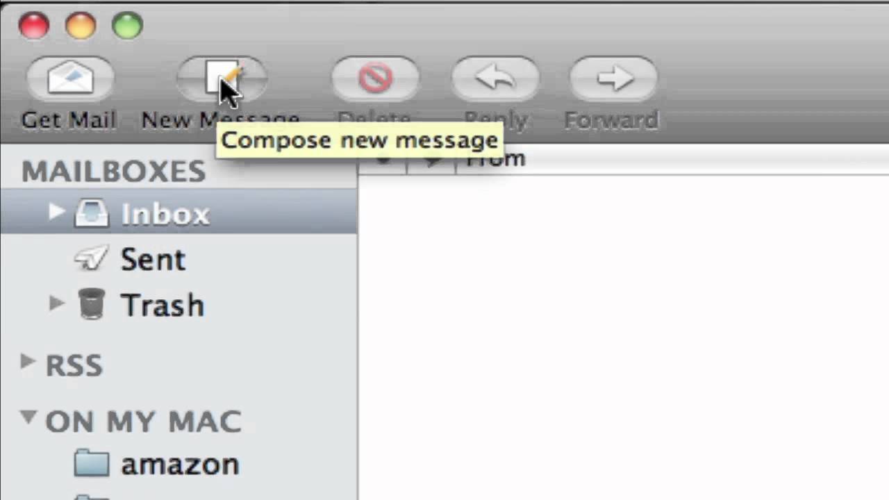 Apple mac mail tutorial 1 youtube.