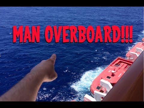 Man Falls Off Cruise Ship!!!