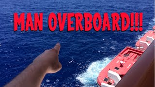 Man Falls Off Cruise Ship!!!