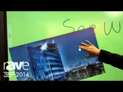 ISE 2014: SEEWO Showcases Interactive Flat Panel Display