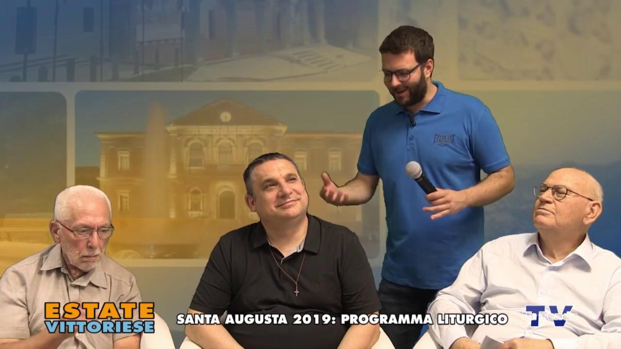 Estate vittoriese - Santa Augusta 2019: programma liturgico