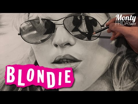 Hyper Realistic Drawing #05 – Blondie