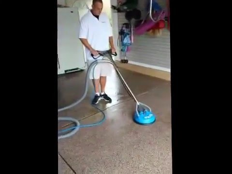 Epoxy Garage Floor Cleaning