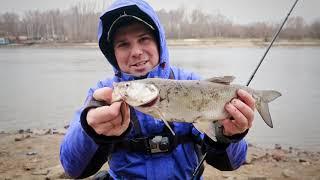 Зимний спиннинг на Москве реке