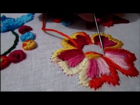 Vhorat Stitch | Hand Embroidery Stitches