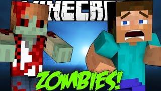 Minecraft: ZOMBIE HUNGER GAMES! Undead Mini-Game War