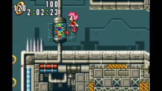 Sonic Advance - Egg Rocket Amy: 2:08:78 (Speed Run)