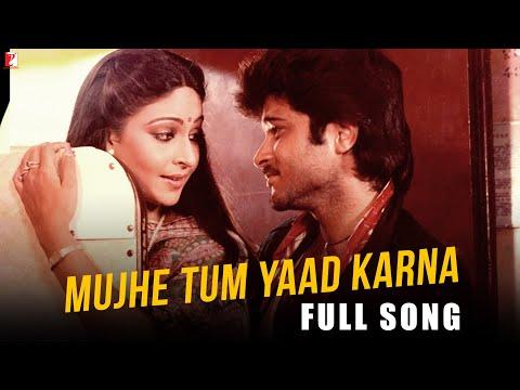 Mujhe Tum Yaad Karna - Full Song HD | Mashaal | Anil Kapoor | Rati | Kishore Kumar | Lata Mangeshkar