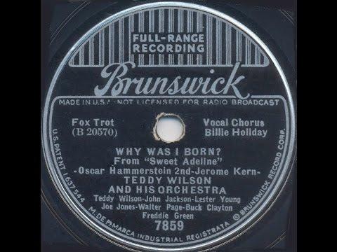 Why Was I Born / Brunswick 7859A