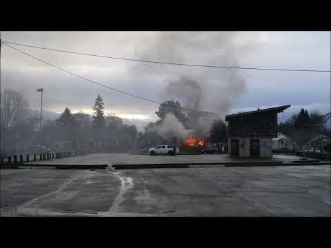 200 block of 21st Avenue house fire in Longview, WA