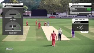 PS3 - Don Bradman Cricket 14 - Tutorial