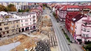 Prodloužení tramvajové tratě na Borská pole - zahájení provozu