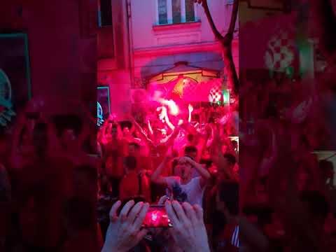 Allez allez allez @ Casablanca Pub, Belgrade 26.05.2018.