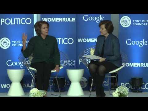Women Rule Keynote: Minority Leader Nancy Pelosi