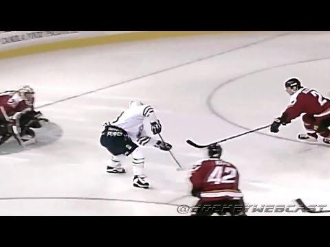 Doug Weight Goal vs Calgary Flames 1997   'NHL 99 Intro Style' (HD)