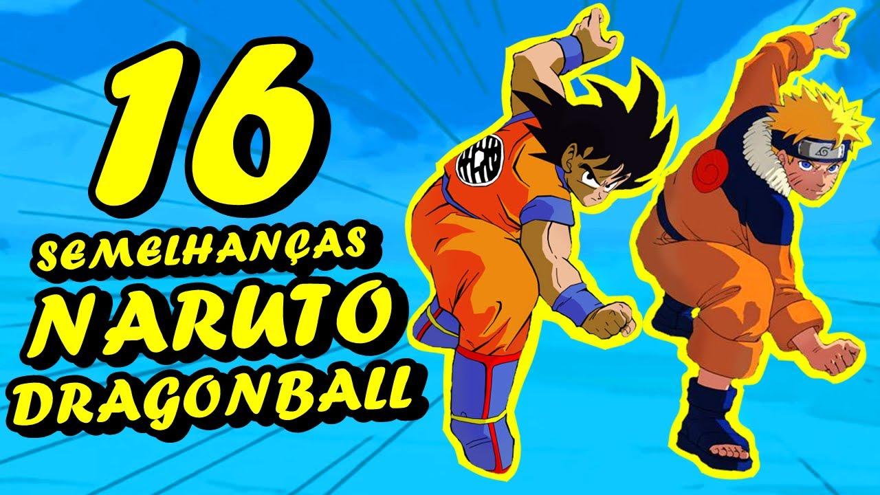 Semelhanas de Naruto com Dragon Ball  YouTube