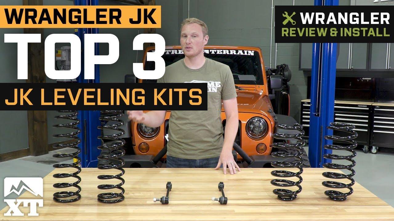 The 3 Best Leveling Kit Lift Kits For Jeep Wrangler 2007 ...