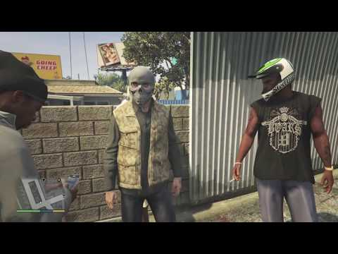 Sly Gameplay - GTA 5 - The Encounters Of Grove Street NPC's & Funny Moments
