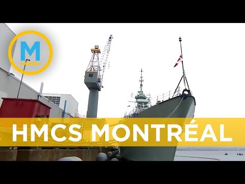 Take a look inside the HMCS Montréal | Your Morning