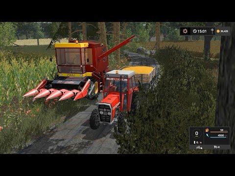 Corn harvest *timelapse* | Small Farm | Farming Simulator 2017 | Episode 12