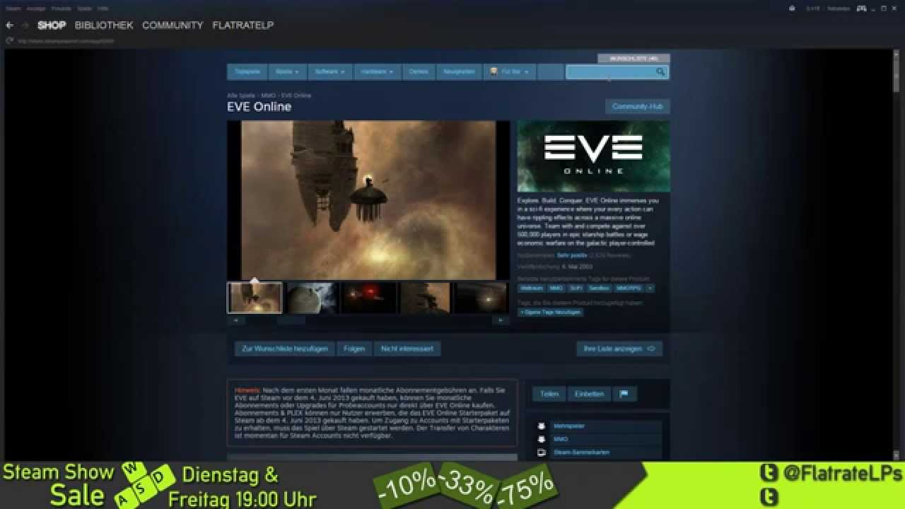 Steam Sale Show #010 -- Deponia/Shadowrun/EVE Online - YouTube