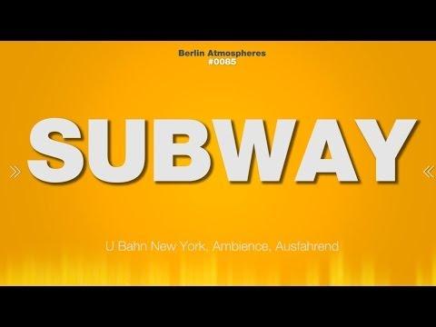 Subway SOUND EFFECTS - New York Subway Station Metro SOUND