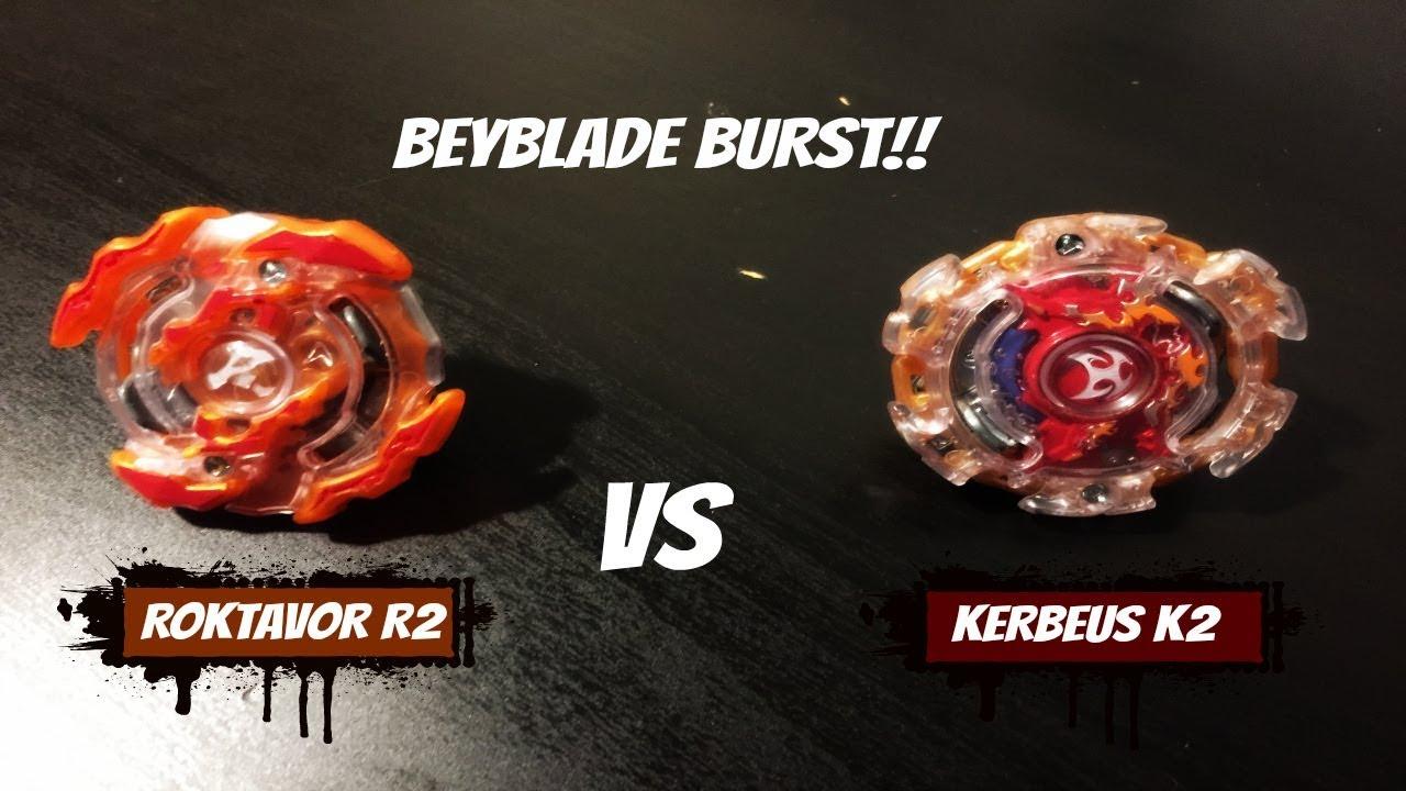 King K2 Vs Beyblade Burst