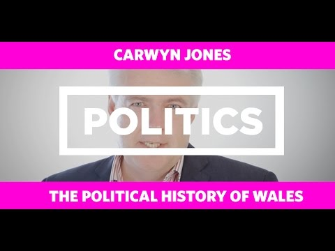 POLITICS: The Political History of Wales English - Carwyn Jones