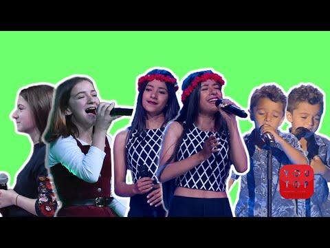 MEJORES audiciones de la HISTORIA en LA VOZ KIDS x TEENS Parte 5