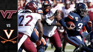 Virginia Tech vs. Virginia Football Highlights (2019)