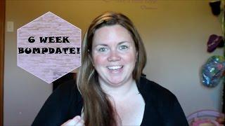 6 WEEK BUMPDATE + EARLY PREGNANCY SYMPTOMS! (Formal Friday #14) TTC w/PCOS