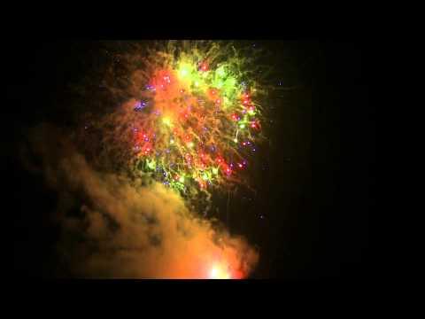 2014/1/30 石和温泉冬花火‐笛吹川の舞‐ ダイジェスト