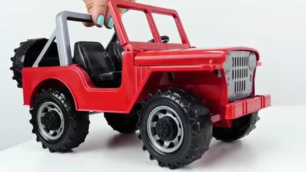 Carros jeep coches para ni os cars youtube for Coches con silla para carro