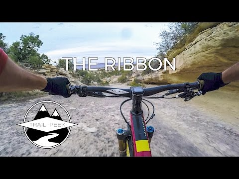 Ripping rock ribbons! The Ribbon Trail - Grand Junction, CO