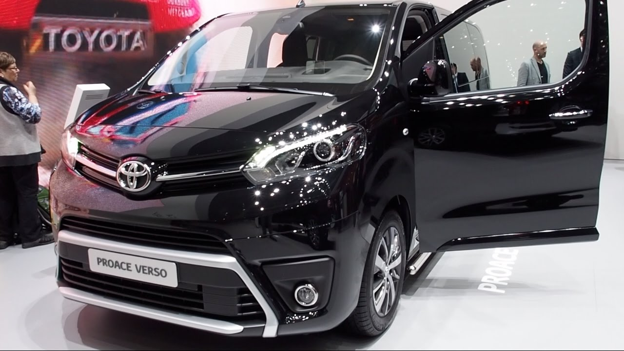 toyota proace verso 2017 in detail review walkaround. Black Bedroom Furniture Sets. Home Design Ideas