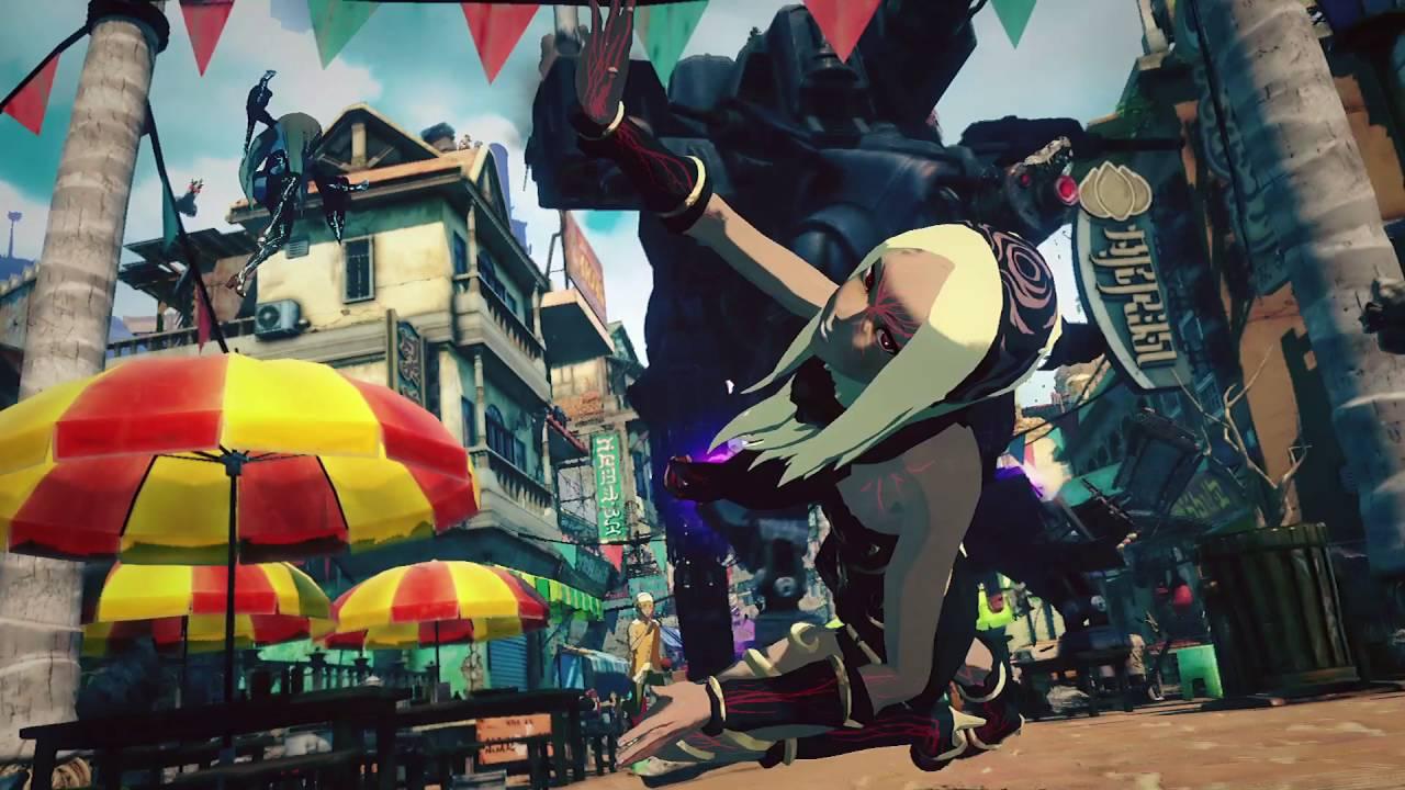 「GRAVITY DAZE 2」E3 2016プロモーションムービー - YouTube