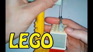 Видео: Как сделать из ЛЕГО - ЛИФТ. How to make LEGO LIFT?