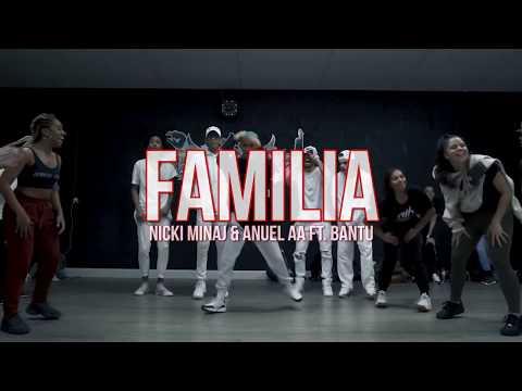 """Familia"" Anuel & Nicki Minaj & Bantu / Cultura Choreography"
