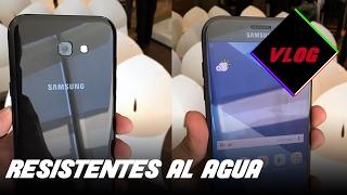 lanzamiento de samsung galaxy a3 a5 y a7 2017 en mxico