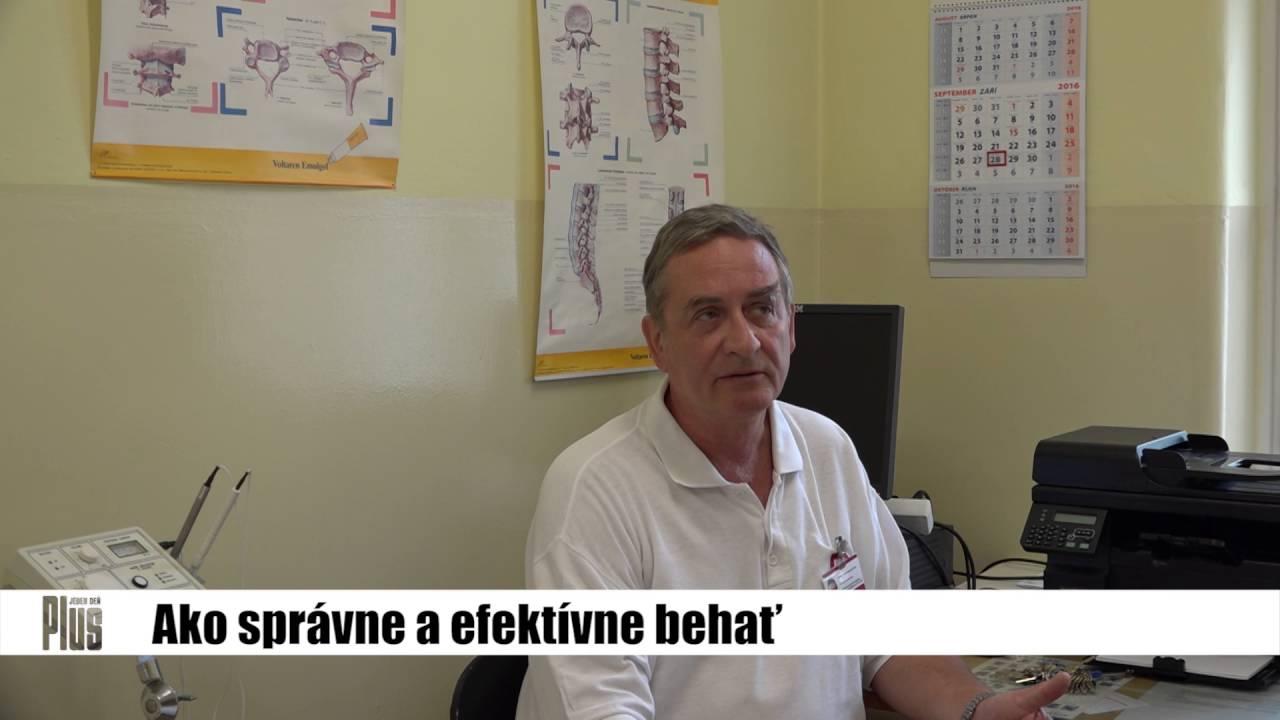 MUDr. Pavel Malovič radí  Ako správne behať  - YouTube 5763ca966f3