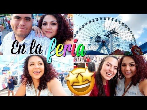Vamos a la feria de Texas en Dallas🎡 & conoci a Aurora Elizondo!😄😊-VLOG