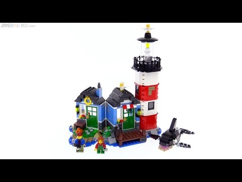LEGO Creator Lighthouse Point 3-in-1 review! 31051