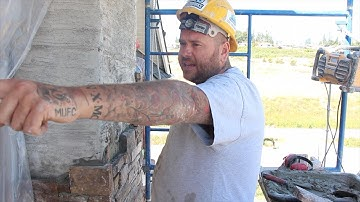 A Day In The Life with STONE MASON BUSINESS OWNER Adrian Sims - CBS Stoneworks