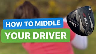 HOW TO MIDDLE YOUR DRIVER - GOLF TIP