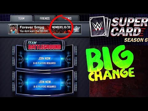 First LOOK | BIG Changes to Team Events in Season 6 WWE SuperCard